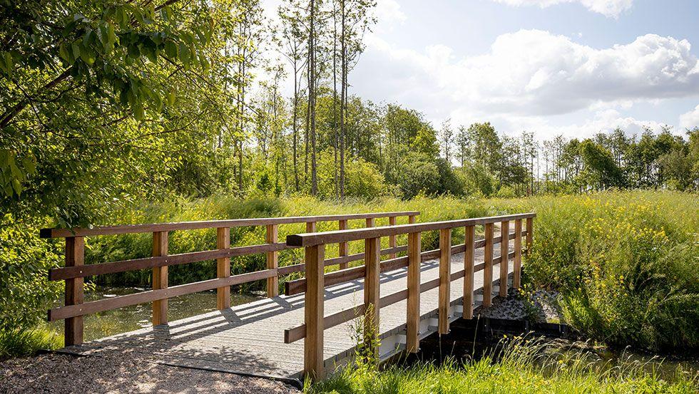 Vervangen diverse houten bruggen