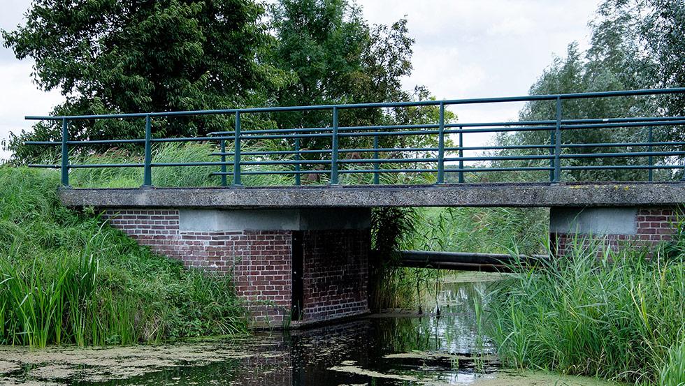 Herstelwerkzaamheden brug S014 Tiendweg te Schipluiden