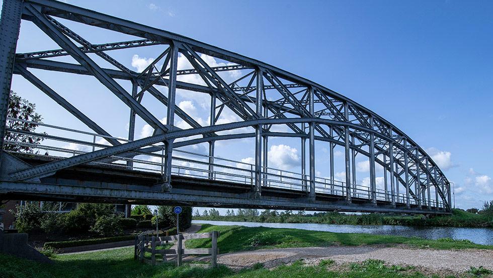 Herstelwerkzaamheden brug S025 Trambrug Schipluiden